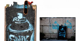 skateboard - found art