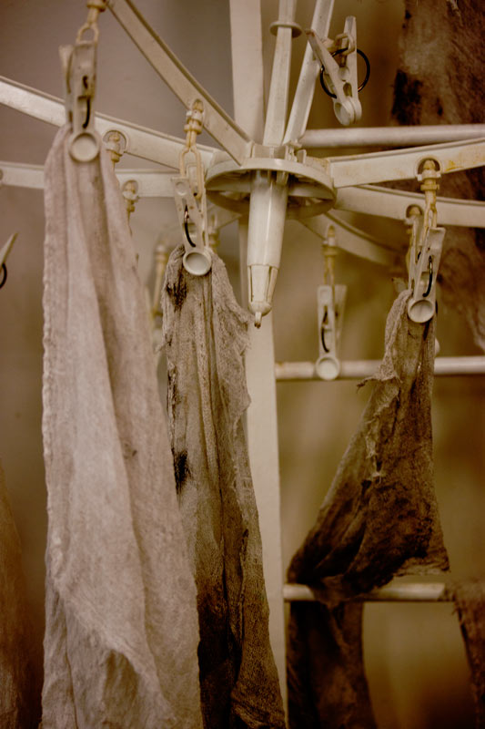 Cheesecloth Dryer