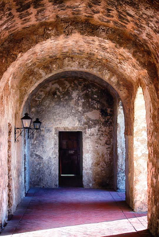 Convento Cloister - Mission Concepcion