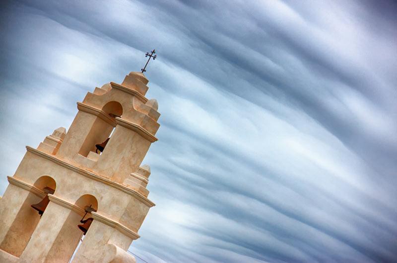 Sky Over San Juan Mission