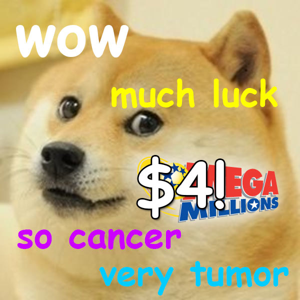 doge lotto cancer